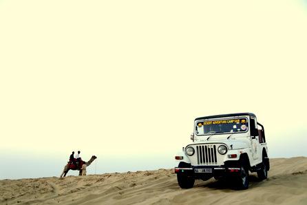 Camel & Jeep Desert Safari